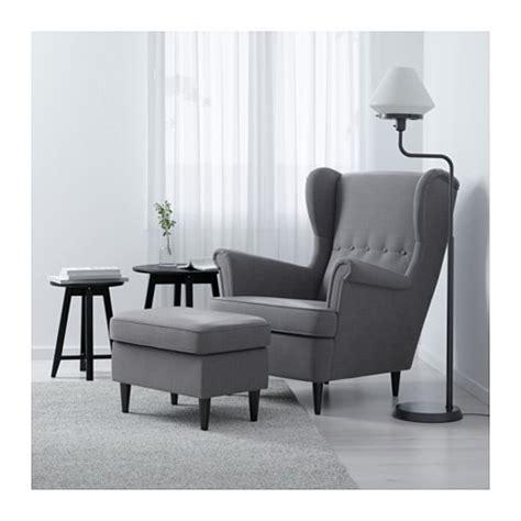 ikea grey wingback chair strandmon wing chair nordvalla grey ikea