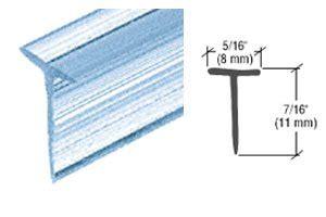 arizona shower door parts crl translucent shower door vinyl quot t quot seal and sweep for 7