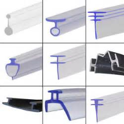 Bath Shower Screen Seal pvc soft rubber shower seal extrusion for fold folding