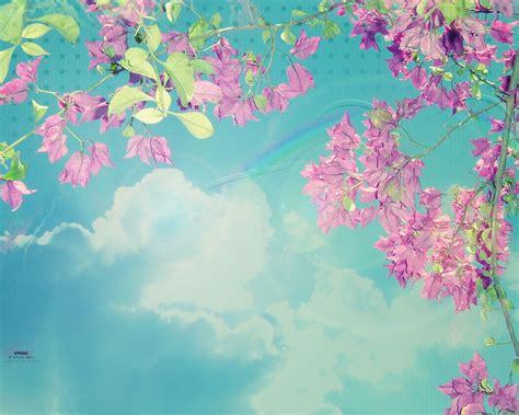 1280x1024 Spring Sky Desktop Pc And Mac Wallpaper Free Flower Powerpoint Template Wallpapers 1280 X 1024