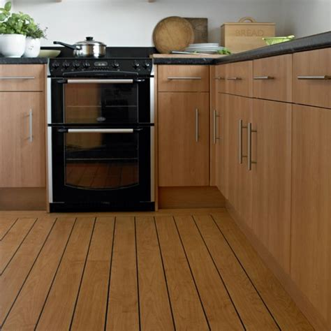 maple kitchen with vinyl flooring kitchen flooring ideas 10 of the best housetohome co uk