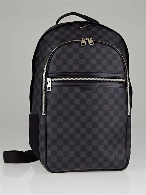 Gamis Lv Black by Louis Vuitton Damier Graphite Canvas Michael Backpack Replica
