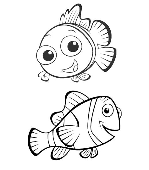 coloring pages nemo and dory cartoons coloring pages nemo and dory coloring pages