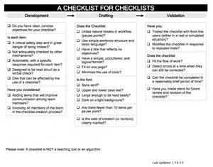 house design brief checklist should real airway experts use checklists ki doc