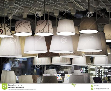 Stores That Sell Light Fixtures Lighting Store Stock Image Image Of House Light Shopping 35287651