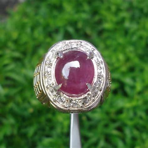 Cincin Cewe Batu Merah Delima 8 merah delima cincin batu mustika dunia pusaka sakti