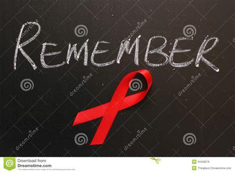 aids awareness remember royalty  stock image image