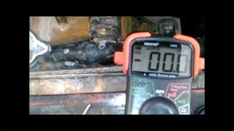 lada a pila falla bateria o alternador