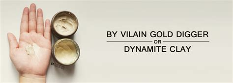 Pomade By Vilain Dynamite Clay hairppening s hair pomade wax clay shop morris