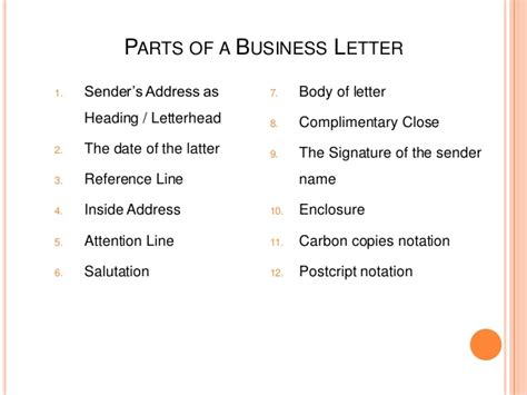 Business Letter Sender S Address how to make business letter 2
