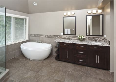 Bathroom Countertops With Sinks Built In Small Freestanding Tub Bathroom Contemporary With None