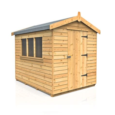 Garden Sheds Sizes by Pendale Apex Garden Shed Sizes From 7 X5 Dsbuildings
