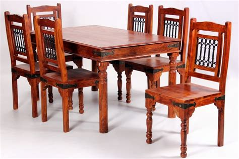 rustic dining table and chairs uk deco solid acacia rustic dining furniture set homegenies