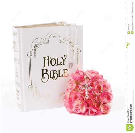 rosary from flowers rosary bible and flowers stock photo image of jewelery