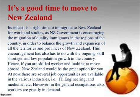 new zealand job planning to move to new zealand know about the job