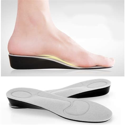 arch support house shoes aliexpress com buy height increase insole free size arch support insoles for shoes
