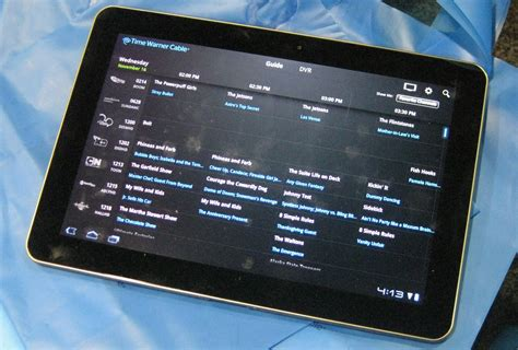 time warner cable app for android time warner cable app hits android no live tv