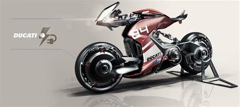 Ducati Elektro Motorrad by Mercenary Garage Electric Ducati