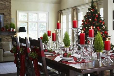 christmas dining room table decorations elegant christmas table decorations for 2016 easyday