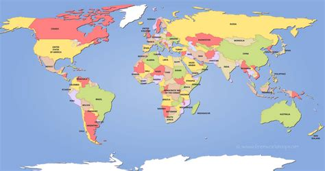 the world map political world maps in map of besttabletfor me