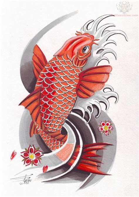 colorful koi fish tattoo designs 5 tatoos knowing koi fish design