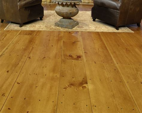 Wide Plank Pine Floors Stand The Test Of Time With Style