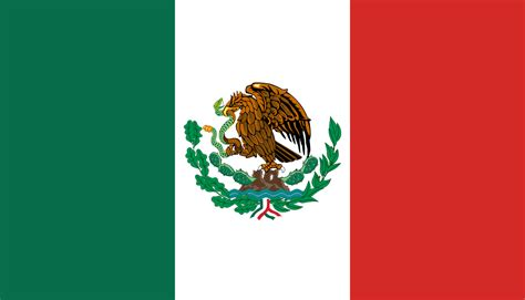 file flag of mexico 1916 1934 svg wikimedia commons