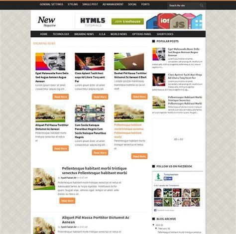 news magazine template 53 best free templates 2014 187 abtemplates