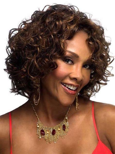 cute short curly hairstyles  black woman ecstasycoffee