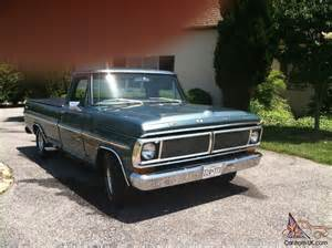 1971 Ford F100 Parts 1971 Ford F100