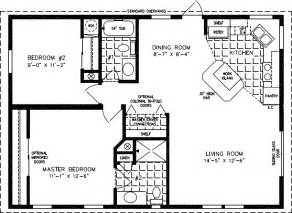 800 Square Feet by Floorplans For Manufactured Homes 800 To 999 Square Feet