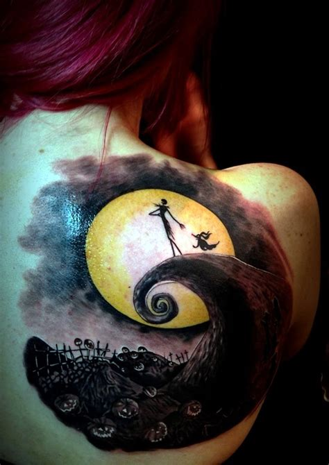 40 nightmare before christmas tattoos