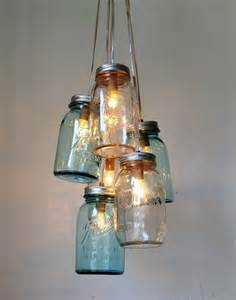 Diy Feather Chandelier 35 Mason Jar Lights Do It Yourself Ideas Diy To Make