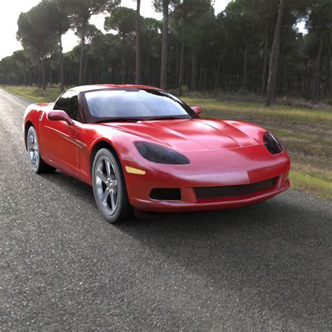 2005 corvette models chevrolet corvette 2005 obj 3d model obj mtl pdf