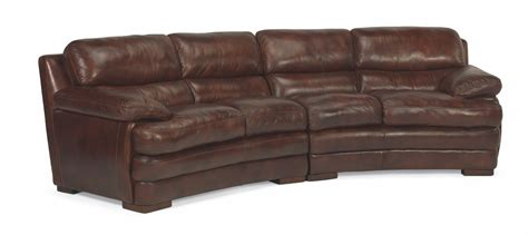 flexsteel conversation sofa flexsteel living room leather conversation sofa without