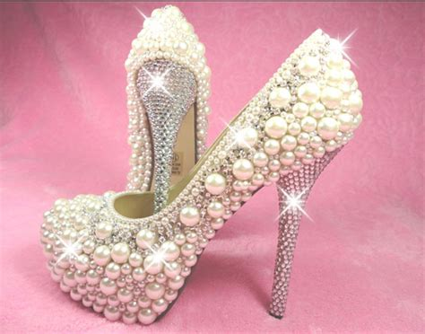 10 Prettiest Wedding Shoes by 6 To Embellish Your Heels Fashionornaments