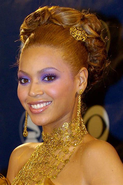 beyonces  grammy awards hairstyles