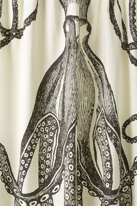 anthropologie octopus shower curtain pin by julie joncas on by the sea pinterest