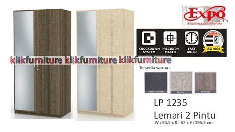 Expo Lp158 Tecido Lemari Pakaian harga lp 1235 expo lemari 2 pintu diskon promosi
