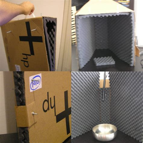 portable mini vocal booth