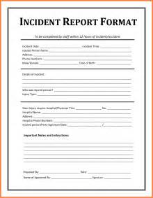 6 example of an incident report bussines proposal 2017