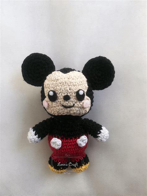 Boneka Baby Mouse lenn s craft handmade doll amigurumi december 2015