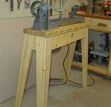 ipad wood lathe stand plans easy  follow   build