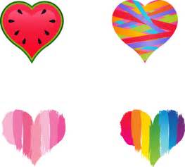 colored hearts a picture of hearts clipart best