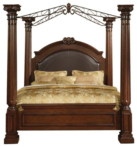 canopy poster bed juliet king poster bed canopy beds by myco