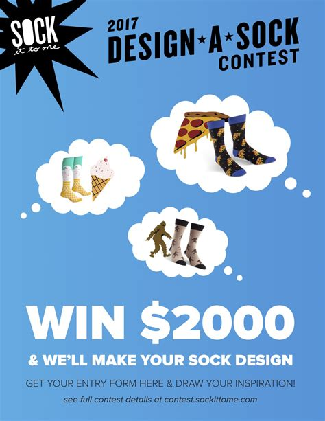 design sock contest sock it to me design a sock contest is back daily