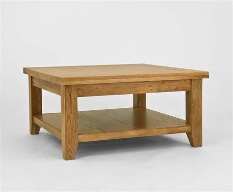 chiltern grand oak square coffee table