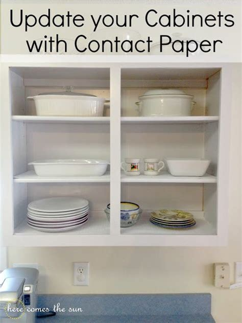how to update your kitchen cabinets rent com blog update cabinets with contact paper here comes the sun