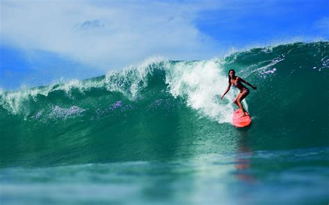 wallpaper girl surf surfing pic wallpaper high definition high quality
