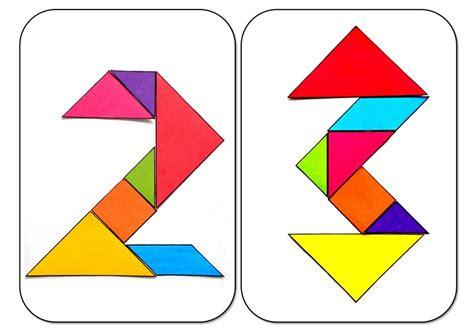 printable christmas tree tangram tangram numbers two and tree 171 funnycrafts